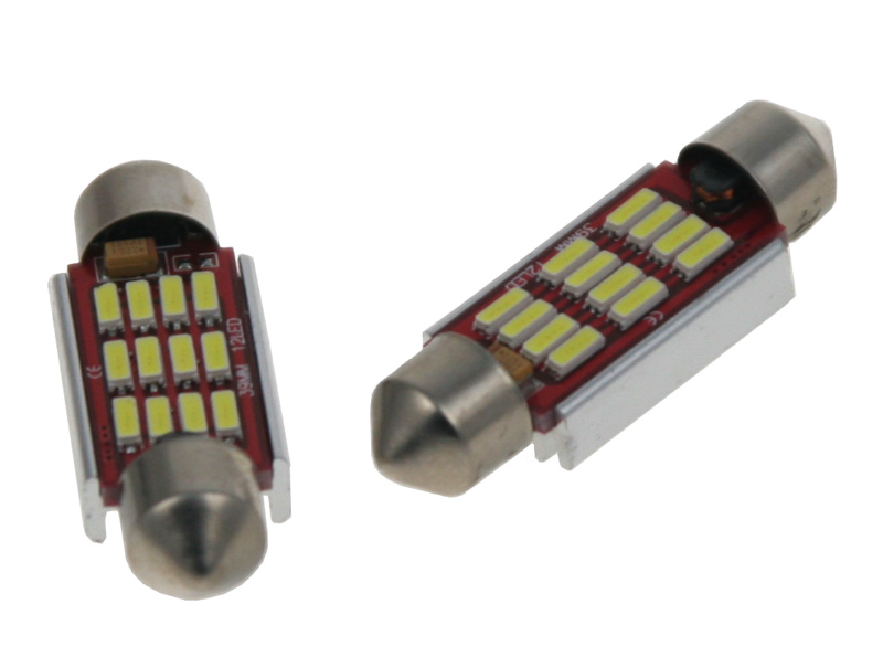LED žárovka 12V sufit(36mm) CAN-BUS